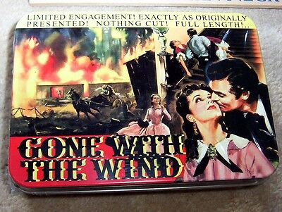 GONE WITH THE WIND Playing Cards in Tin Boxes Two sets NEW & SEALED - Dated 2004