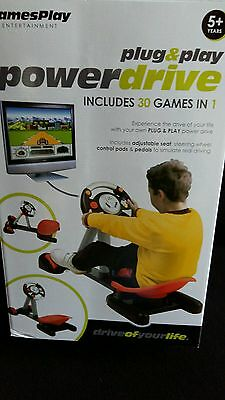 Plug and Play Power Drive 30 games in 1 !!!!  BNIB