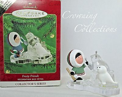 2000 Hallmark Frosty Friends Repaint Colorway Keepsake Ornament Register to Win