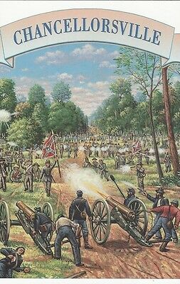 1995 Civil War #2975p Chancellorsville FD Post Card