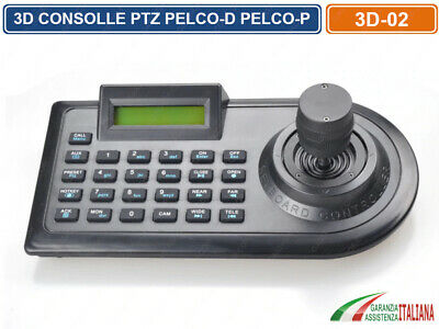 4D Keyboard Controller Consolle Joystick Ptz Per Telecamera Speed Dome Rs485
