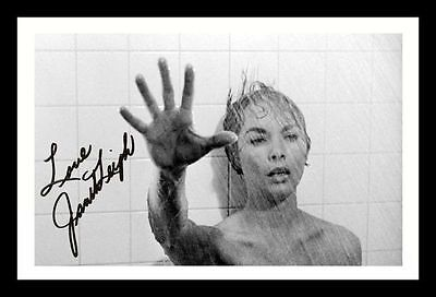 Janet Leigh - Psycho Autographed Signed & Framed Pp Poster Photo
