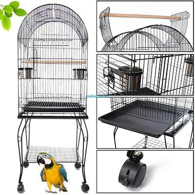 "150cm/59"" Tall Large Bird Cages Canary Budgie Parakeet Cockatiel Finch Lovebird"