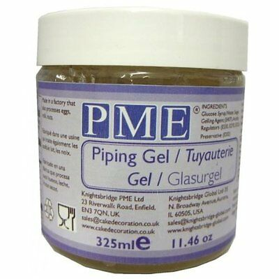 PME Sugarcraft Piping Gel - Clear - 325 mL