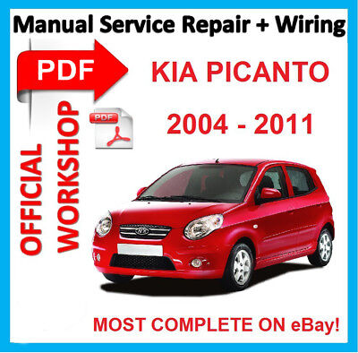 # OFFICIAL WORKSHOP MANUAL service repair KIA PICANTO (SA) 2004 - 2011