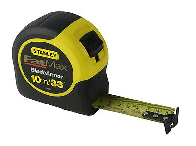 Stanley Fatmax Tape Measure with Blade Armor 10m / 33Ft 0-33-805 Brand New