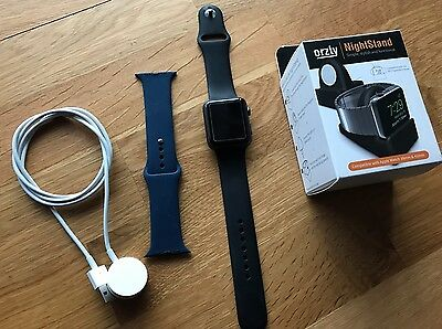 Apple Watch 42mm - Series 1 Latest *Mint Condition* With Extras