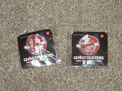 2 AMC Ghostbusters Movie traders PIN limited edition collector 2 brand new