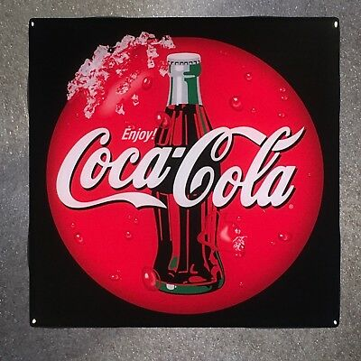 COCA-COLA Ceramic Tile Coaster COKE Soda Pop