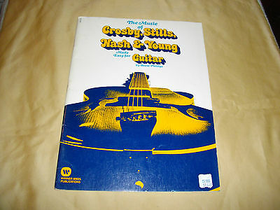 the music of crosby, stills , nash & young made easy for guitar sheet music