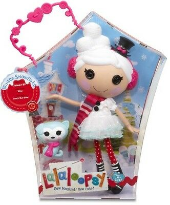 Lalaloopsy Doll - Winter Snokflake - Full Size Doll With Pet - New In Box