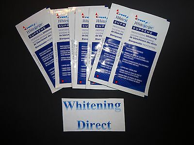 14 Crest Supreme Professional Effects Teeth Whitening Whitestrips White Strips