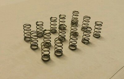 """Qty 60  .625"""" length  .240 OD Stainless Steel small compression coil springs"""