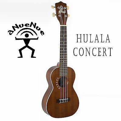 aNueNue CONCERT UKULELE HO2 *view video* HULALA OCEAN SERIES  WITH GIG BAG -NEW