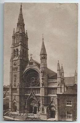Vintage Postcard.  St. Peter's R.C. Church, Droghedra.  Unused.  Ref:6937