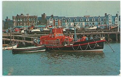 Vintage Postcard. The Lifeboat, Lowestoft.  Unused .Ref:63120