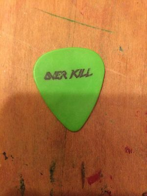 OVERKILL 1996  From The Killing Kind Tour Used Guitar Pick!!! concert stage Pick
