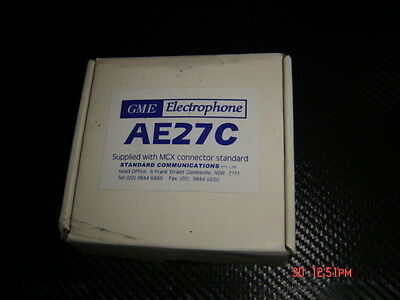GME Electrophone Gps Antenna for AE27C Supplied with MCX Connector