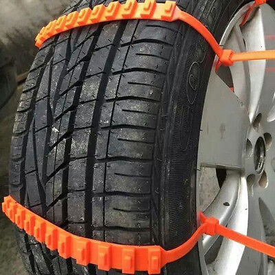 5x Winter Antiskid Chains fo Car/Truck Snow Wheel Tyre Tire Thickened Tendon New