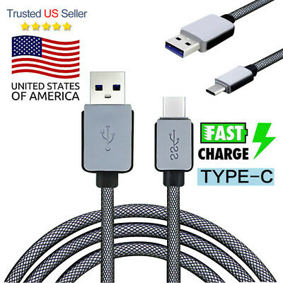 Type C USB-C 3.1 Charging Cable Data Sync For Samsung Note8 S8 S8 plus LG G5 G6