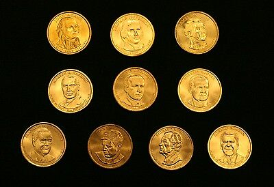 Presidential dollar coins, Roosevelt, Reagan, Hoover price $2.5 each or less