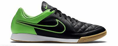 Details about NIKE TIEMPO GENIO LEATHER SCARFACE MEN SHOES BLACKWHITE 631283 010 SIZE 9 NEW