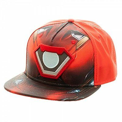 *NEW* Marvel: Civil War Iron Man Suit Up Ballistic Snapback Cap by Bioworld