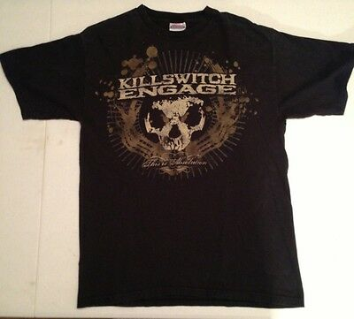 KILLSWITCH ENGAGE THIS IS ABSOLUTION KSE Rock Band T-shirt Medium M