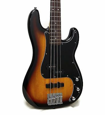 Squier Vintage Modified Precision Bass PJ Electric Bass - 3-Color Sunburst