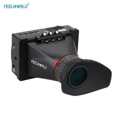 "FEELWORLD 3.5"" LCD Screen SDI Electronic View Finder for Video Camera Camcorder"