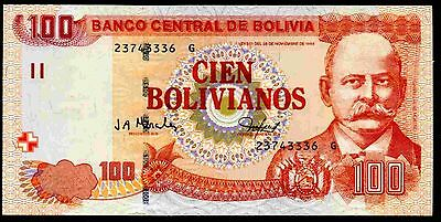Bolivia. . 100 Bolivianos, G 23743336, 28-11-1986, (2005), Almost Uncirculated.