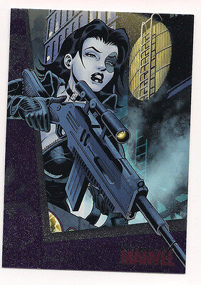 Women of Marvel series 2 - Base Trading Card # 19 - Domino