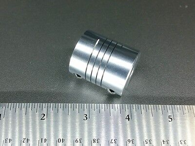 8mm X 14mm Large Heavy Duty Flexible Motor Shaft Clamp Coupler Coupling Nema 23