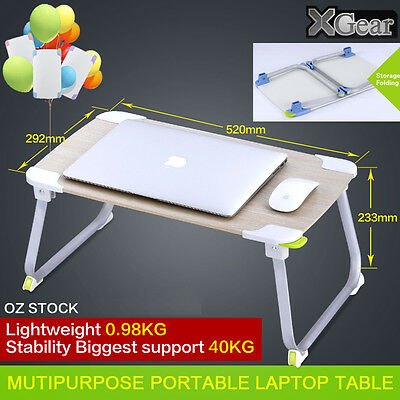 XGear Portable Table Laptop Foldable Tray home bed office Desk Mate Dinner