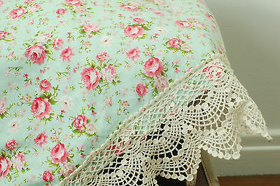 Heritage Blanket - baby girl, lace, swaddle, wrap, crochet, prop