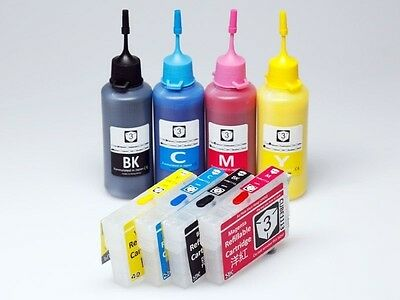 Refillable Ink Cartridge Kit for Epson 29 29XL XP-235 XP-332 XP-335 XP-432