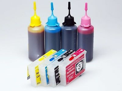 Refillable EDIBLE Ink Kit for Epson 29 29XL XP-235 XP-332 XP-335 XP-432 XP-247