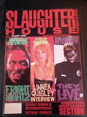 Slaughterhouse magazine collectors edition no.1