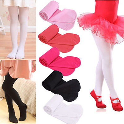 Candy Color Girls Kid Toddler Tights Opaque Pantyhose Hosiery Ballet Dance Socks
