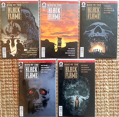 Rise of the black flame  #1 #2 #3 #4 #5