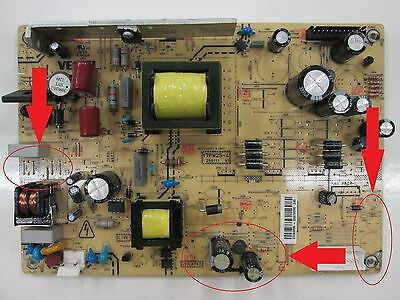 """Power Board 26""""-32"""" (USED IN SEVERAL MAKES) 17PW25-4 TV PARTS"""