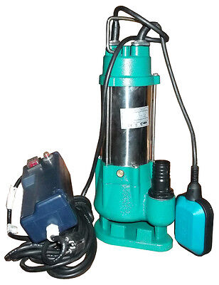 IBO V370 Submersible Pump - Septic Sewage Cesspit Sump 7000lph SMALL w. SHREDDER