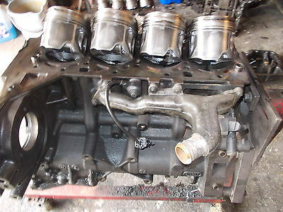 Cylinder Block and Pistons    Ford Transit 2.4 TDCI Duratorq 2005 MK 6 135ps