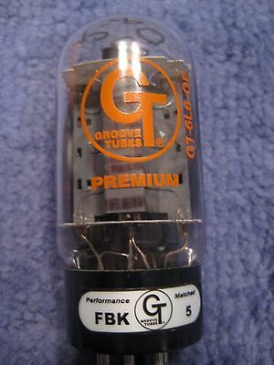 Groove Tubes 6L6GC Audio Valve NOS Matched Pair