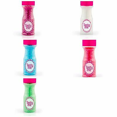 Tasty Me - Sparkling Sugar Crystals Sprinkles (Sanding Sugar) Various Colours