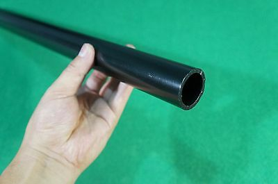 "Titanium Grade 2 Tube ( 1.377"" OD x .137"" Wall x 17.7"" Long ) Tubing EP Black"