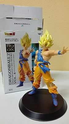 Dragon Ball Z Goku Gokou Ss Attack Hq Dx Figure Figura Hqdx