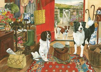 The House Of Puzzles - 1000 PIECE JIGSAW PUZZLE - Walkies Dogs