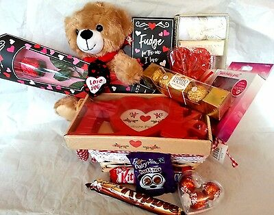 Luxury Valentines Day Gift Hamper Chocolate For Her Girlfriend Wife Fiance