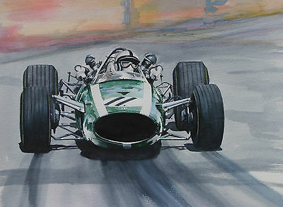 Original Pedro Rodriguez  Cooper     Watercolour Painting.